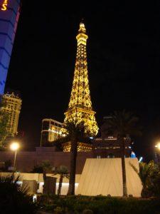 a walk down the Vegas strip