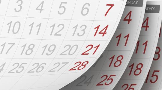 calendar-lent