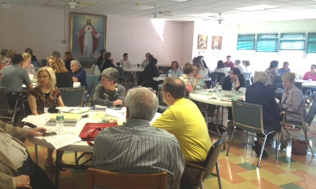 Table Discussion in Newark