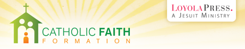 Catholic Faith Formation header