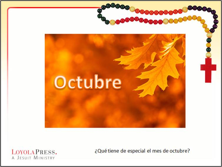 Rosary PowerPoint in Spanish
