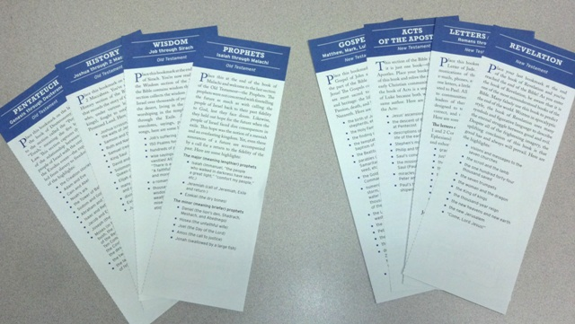 Reviewing with the bible bookmarks catechists journey i will have them immediately get to work finding some scripture passages using the bible bookmarks from my book the bible blueprint and their malvernweather Gallery