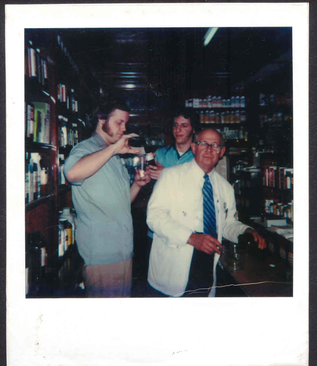 Remembering my Dad, John H. Paprocki, Jr. Here, my brother Ron and I are helping him fill prescriptions, circa 1979. Yes, both Ron and I are licensed pharmacy technicians!