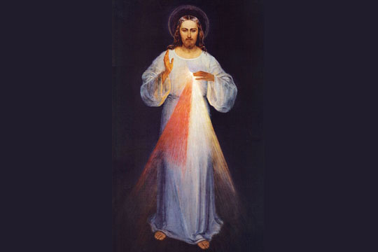Divine Mercy - PD via Wikipedia