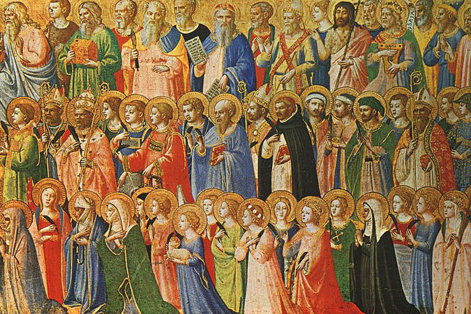 Fra Angelico - The Forerunners of Christ with Saints and Martyrs