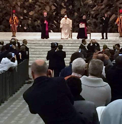 The Holy Father convenes the conference in Paul VI Hall
