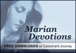 Marian Devotions--Free Poster and Handouts