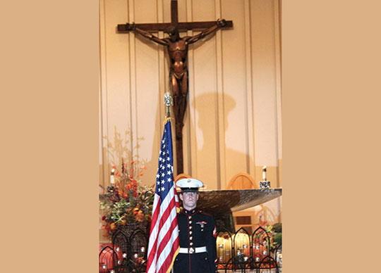 St. Barnabas Veterans Day Mass