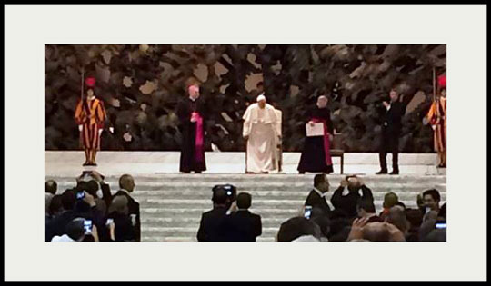 Holy Father at autism conference 2014