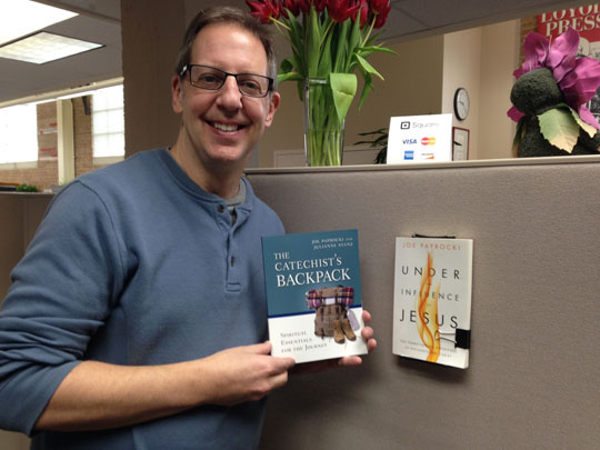 Joe Paprocki with Catechist's Backpack book