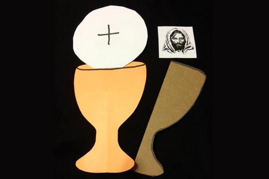 Eucharist Real Presence craft