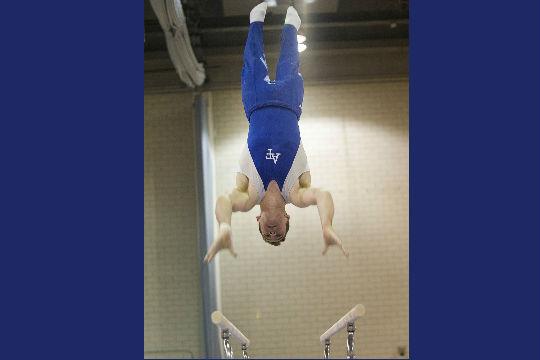 gymnastics flip