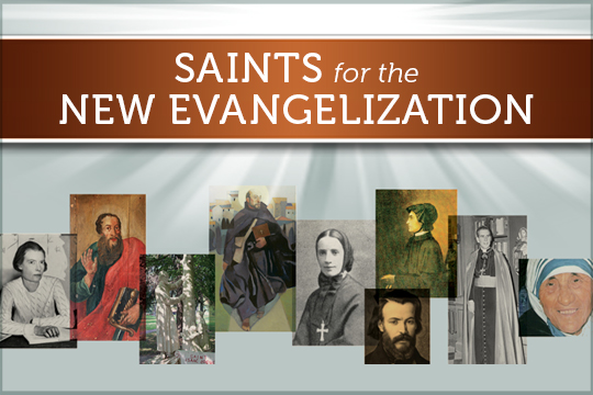Saints for the New Evangelization PowerPoint presentation