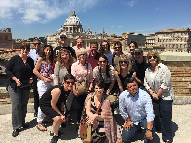 This is the wonderful group I had the pleasure of traveling with. Many thanks, Loyola Press!