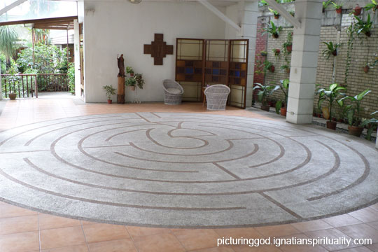 labyrinth at spiritual center