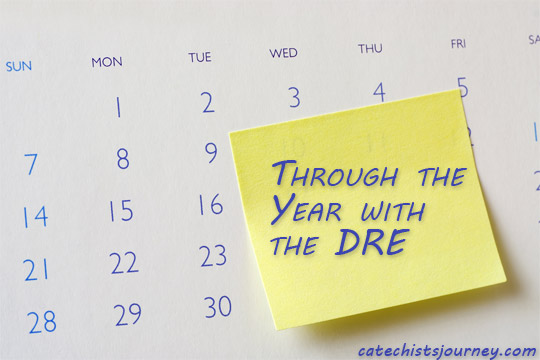 through the year with the DRE calendar