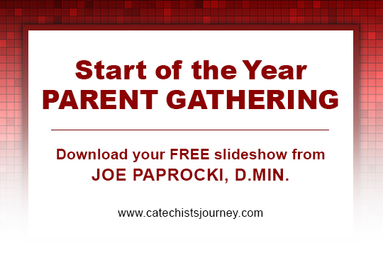 start-of-the-year parent gathering