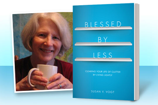 Blessed by Less book by Susan Vogt