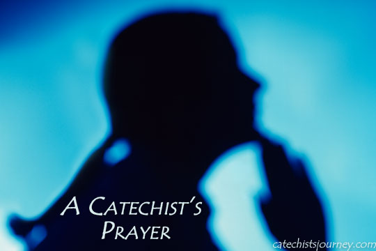 A Catechist's Prayer - woman praying