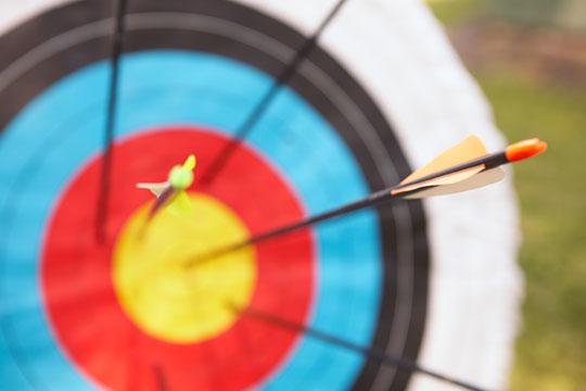 goal - target