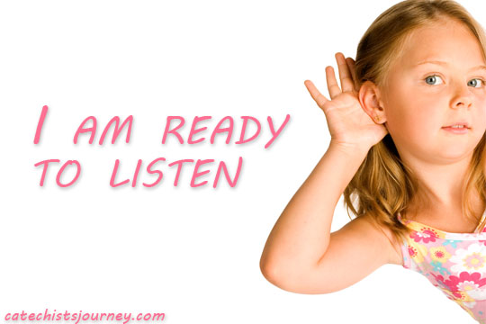 girl listening - ready to listen
