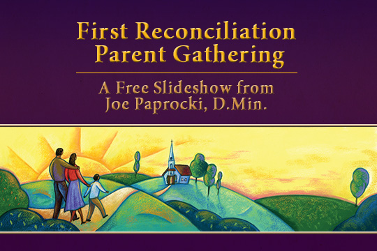 First Reconciliation Parent Gathering - free slideshow presentation