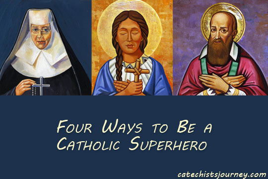 Catholic saints - superheroes of faith