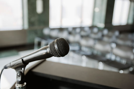microphone-public speaking