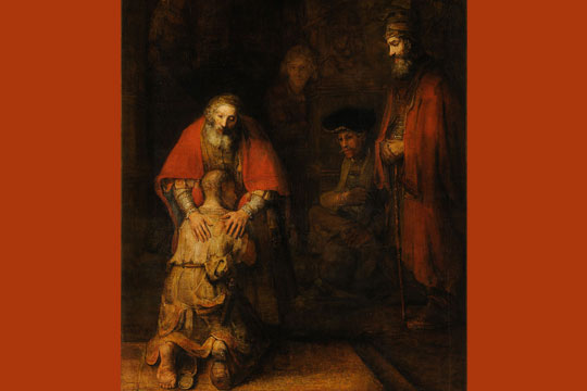 "Rembrandt - ""The Return of the Prodigal Son"""
