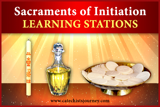 Sacraments of Initiation Learning Stations