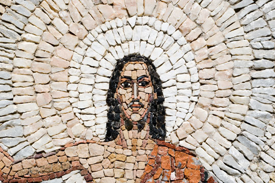 Resurrection mosaic