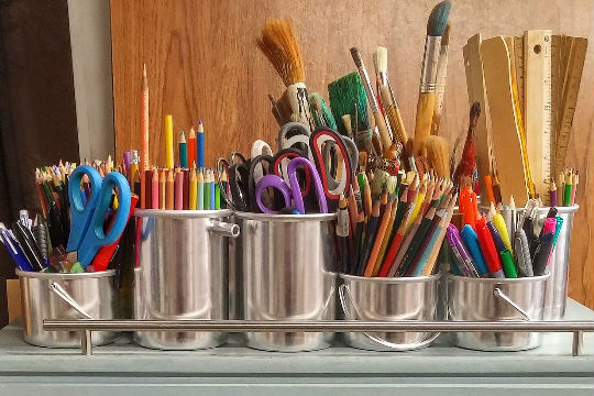 craft and art supplies