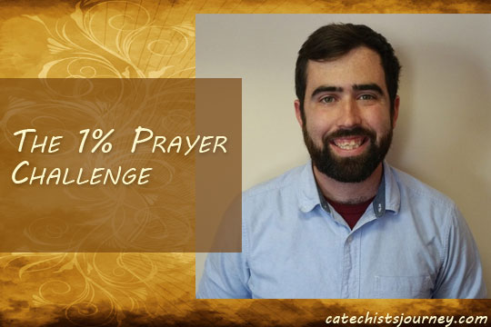 Mike Lorenzo and the 1 Percent Prayer Challenge