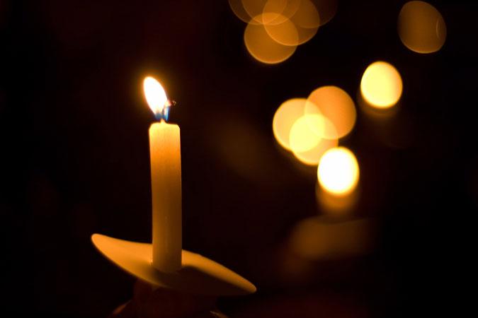 vigil light candle