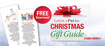 2016 Loyola Press Christmas Gift Guide - free prayer cards download