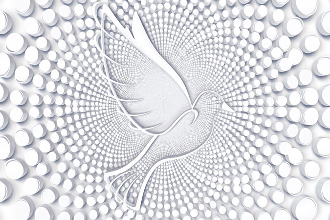 dove - symbol of Holy Spirit