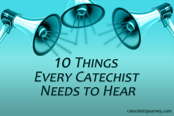 speakers - text: things every catechist needs to hear