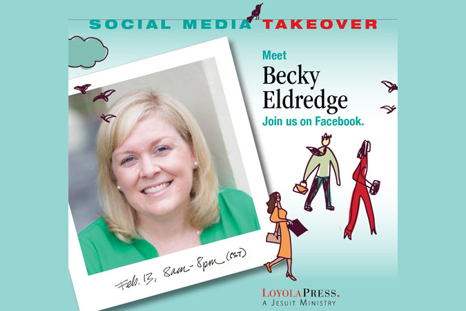 Becky Eldredge Social Media Takeover - Author Event