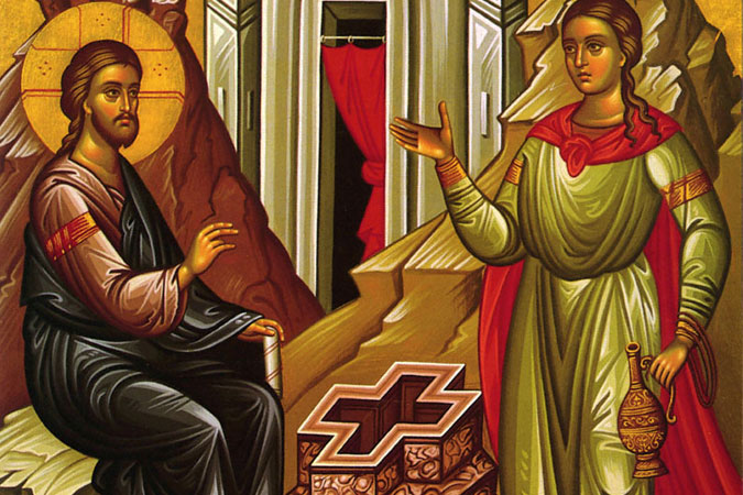 Orthodox Icon - St. Photini - Samaritan Woman at the Well