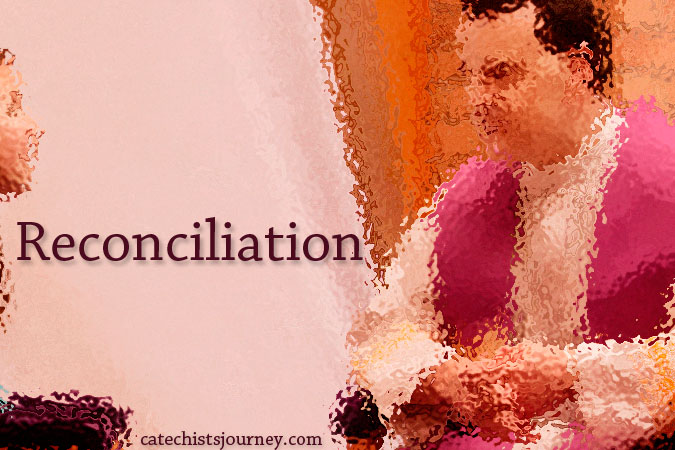 Reconciliation - face-to-face with word overlay