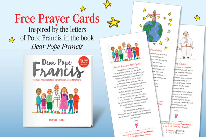Prayer Cards Inspired by Pope Francis