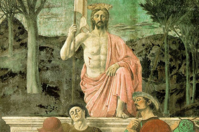 "Piero della Francesca - ""The Resurrection of Jesus Christ"""