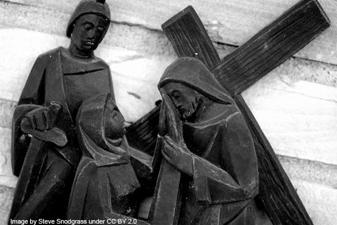 Stations of the Cross image by Steve Snodgrass under CC BY 2.0, via Flickr
