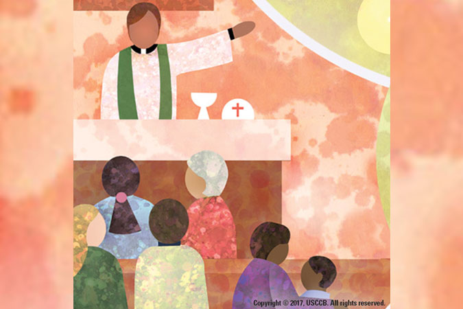 Catechetical Sunday 2017 - Living as Missionary Disciples - clip art from USCCB