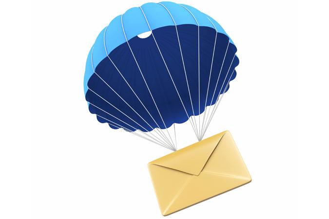 mail parachute