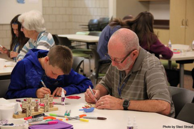 Grandparent/Grandchild Camp - photo by Staci Stroud