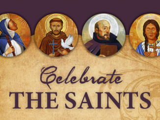 All Saints Day - Celebrate the saints.