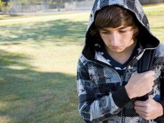 worried teen
