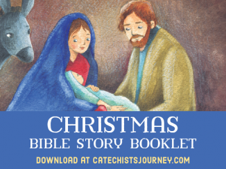 Christmas Bible Story Booklet