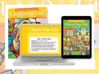 Christ Our Life Family Catechesis computer components